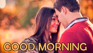 Lover Good Morning Images Wallpaper With Beautiful Couple