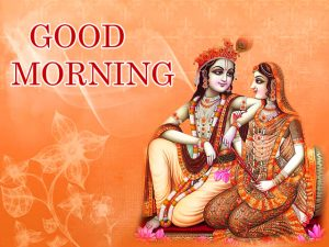Radha Krishna Good Morning Images Wallpaper For Whatsaap