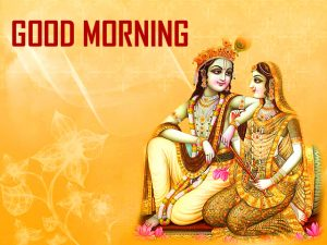 God Radha Krishna Good Morning Images