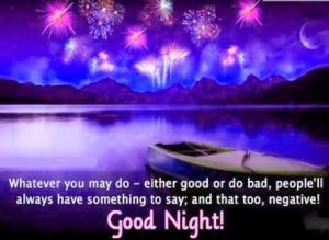 Good Night Images Photo With Quotes