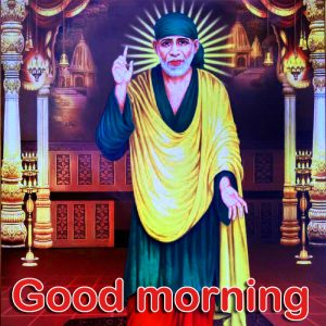 God Good Morning Images Wallpaper Pictures Download With Sai Baba