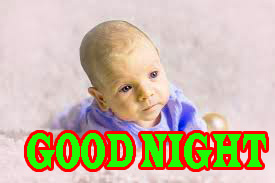 New good night Image Wallpaper pics With Cute Baby