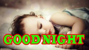 New good night Images Wallpaper Picture With Beautiful baby