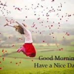 girl happy good morning images pictures photo wallpaper free download