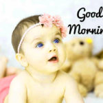 latest cute baby good morning images wallpaper pictures photo HD