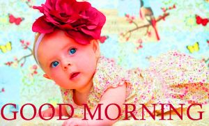Good Morning Images Wallpaper Pictures With Cute Baby