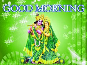 God Radha Krishna Good Morning Images Pic Download