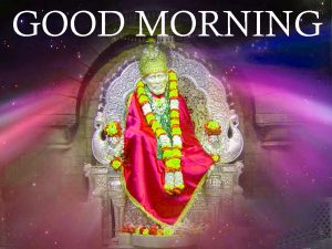 Sri Sai Baba Good Morning Images Wallpaper Download