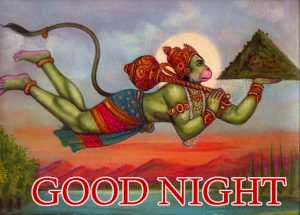 Good Night Images Wallpaper Pics With God Hanuman Ji