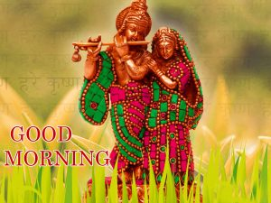 Radha Krishna Good Morning Images Pictures HD Download
