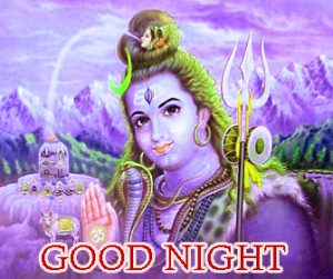 Good Night Images Pic With Hindu God