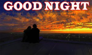 New good night Images Wallpaper pictures With Romantic Couple