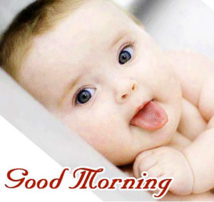 Cute Baby good morning images wallpaper pictures photo HD