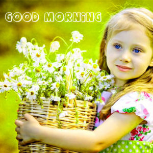 Cute Girl good morning images wallpaper pictures photo Download